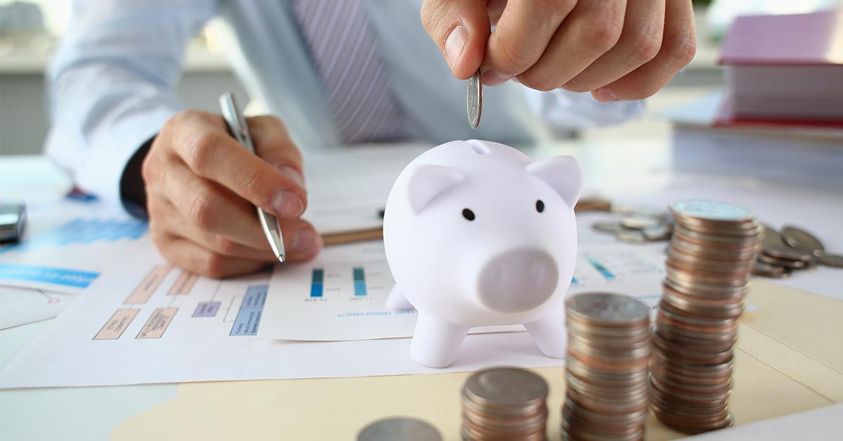 odklad peňazí do prasiatka, sporiaci úcet